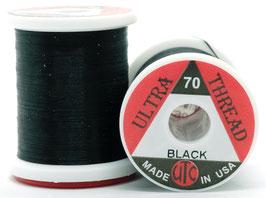 UTC ULTRA THREAD 70 Den. Black UT7100