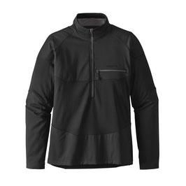 Patagonia LONG- SLEEVED R1 FIELD 1/4 ZIP Black