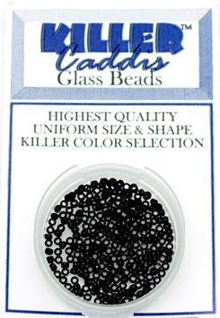 Wapsi KILLER CADDIS GLASS BEADS Black Small 2,2mm