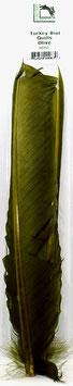 Hareline TURKEY BIOT QUILL Olive TBQ263