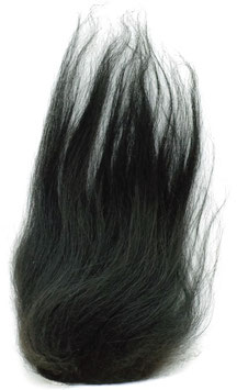 Hareline ISLANDIC SHEEP HAIR Black