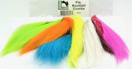 NORTHERN BUCKTAIL Fluo Combo Pack BCFL