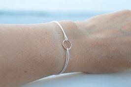 Armband mit Kreis - Circle 925 Sterling Silber