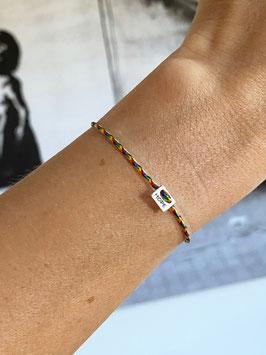 7: Regenbogen Armband Hope
