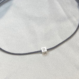 Armband mit 925 Sterling Silber Cube Gravur