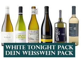 Weissweine (6x1 Flasche) & 1 Zapfenzieher