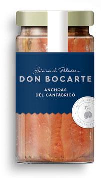 Anchoas Cantabrico 16/18 Filets im Glas / verre