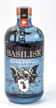 Basilisk Basel Dry Gin 50cl