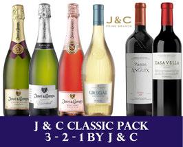 J & C Classic Pack 3 - 2 - 1