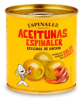 Aceitunas Espinaler Rellenas 200g