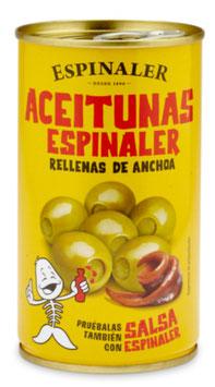 Aceitunas Espinaler Rellenas