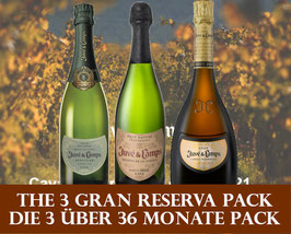 Cava Gran Reserva Set (3 x 1 Flasche)