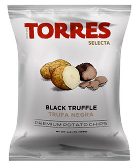 Torres Chips Black Truffle