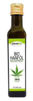 Hanföl (kaltgepresst) vom Biohof  Lindenberg / Altmark