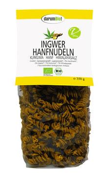 Ingwer-Hanfnudeln mit Hanf vom Biohof  Lindenberg / Altmark