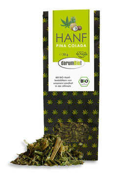 Hanf-PinaColada-Tee vom Biohof  Lindenberg / Altmark