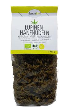 Lupinen-Hanfnudeln mit Hanf vom Biohof Lindenberg / Altmark