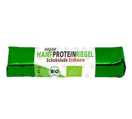 Hanf-Proteinriegel mit Hanfprotein vom Biohof  Lindenberg / Altmark
