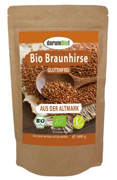 Braunhirse vom Biohof  Lindenberg / Altmark