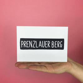 POSTCARD PRENZLAUER BERG