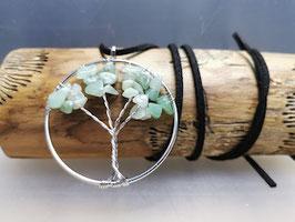 Kette mit Lebensbaum und Aventurin