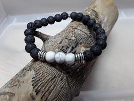 Schutz Armband Lava Howlith