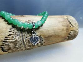 Aventurin Armband mit Herz