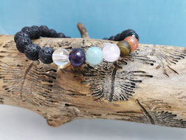 Chakra Edelsteine Armband