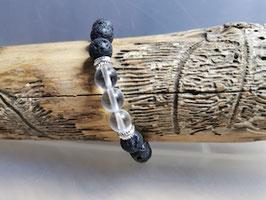 Schutzarmband mit Bergkristall