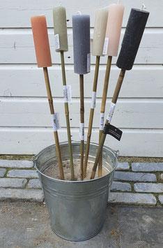Tuinfakkels op bamboe stok