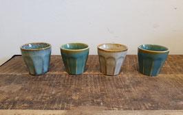 Set espressokopjes aqua multi mix S