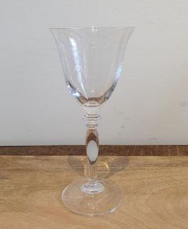 Wijnglas fijn geslepen