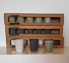 Espressokopjes Stone - set van 6