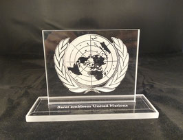 Baret embleem United Nations