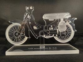UN scooter van de Aal