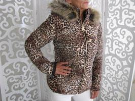 Winterjacke Leopard