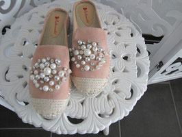 Damen - Schuhe mit Perlendesign