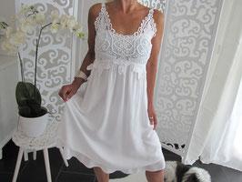 Sommer Kleid mit Spitze