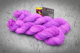 Merino High Twist 4fach, Atelier Zitron, 50g, Semisolid- Färbung neon