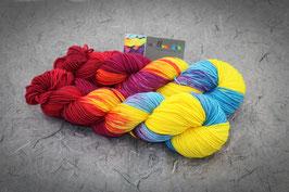 Sockenwolle Fine Merino Socks, Lanartus, 8fach, 100g