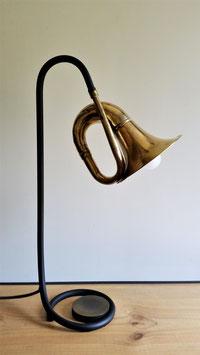 Lampe Klaxon socle laitonné