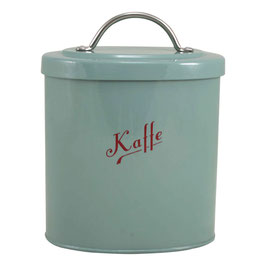 Emaille Kaffe petrol