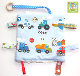 ♥ Knistertuch Fahrzeuge N0250 ♥