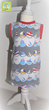 ♥ Babykleid Jersey Wunschgröße Schiffe ♥