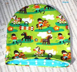 ♥ Baby und Kinder Mütze Pferde ♥