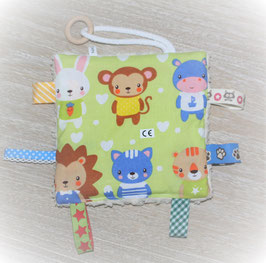 ♥ Knistertuch Tierparade N0380 ♥