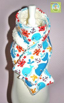 ♥ Kinderschal Meerestiere ♥