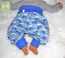 ♥ Babyhose Jersey Wunschgröße Happy Wal ♥