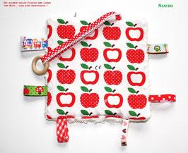 ♥ Knistertuch Äpfelchen N0225 ♥