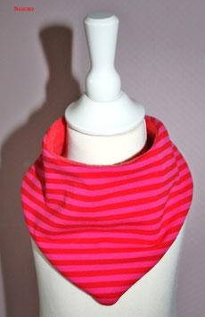 ♥ Herbst / Winter Halstuch Streifen pink ♥